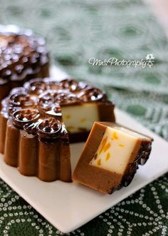 Min's Blog: 咖啡牛奶燕菜月饼 Espresso Jelly Mooncake