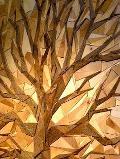 Reclaimed wood art #piel #shoppiel #inspiration