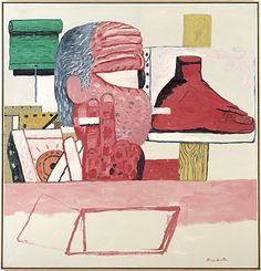 Nice work of Philip Guston philipguston inthestudio painter printmaker newyorkschool abstractexpressionism neoexpressionism pureabstraction existentialism figurativepainting nicecolors pyjamas pjs pajamas inspiration loungewear moma Jackson Pollock, Tachisme, Bad Painting, Figure Painting, Willem De Kooning, Moma, Abstract Expressionism, Abstract Art, Pop Art