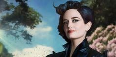 Eva Green as Miss Peregrine in Miss Peregrine's Home For Peculiar ...