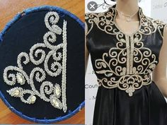 hand embroidery with beads Hand Embroidery Patterns Flowers, Ribbon Embroidery Tutorial, Hand Embroidery Videos, Hand Work Embroidery, Silk Ribbon Embroidery, Hand Embroidery Designs, Beading Patterns, Motif Soutache, Motifs Perler