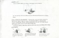 Notes on perspective drawing by Disney layout artist Paul Felix - Part I Comic Book Artists, Comic Artist, Thomas Romain, Nathan Fowkes, Graphic Design Lessons, Composition Art, Perspective Drawing, Environment Concept Art, Drawing Tips