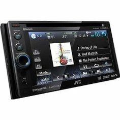 Amazon.com: JVC Bluetooth Double-DIN In-Dash ARSENAL DVD Multimedia Receiver (KWADV65BT): Car Electronics $288