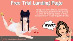 Free trial landing page is a growth hacker to grow potential customer email list. Click on Visit to read more...