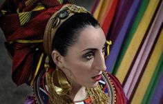 Rossy de Palma (born Rosa Elena García Echave in Palma de Mallorca on 16 September 1964) is a Spanish actress. Described by many as a Picasso come-to-life, Rossy de Palma broke the rules of beauty in 1988 when she starred in Pedro Almodóvar's Women on the Verge of a Nervous Breakdown and became a model and muse for designers like Jean-Paul Gaultier, Thierry Mugler, and Sybilla.