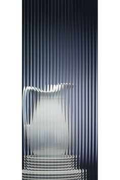 Glass door options - A staple in glass inserts, this reeded glass provides a linear vertical design that supports a variety of design styles.