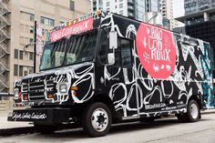 Boo Coo Roux Food Truck Branding & Truck Wrap Design on Behance
