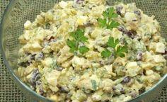 Legendárny šalát s kuracím mäsom a červenou fazuľou s názvom Michal. Keď chcem schudnúť, urobim si toto na večeru My Recipes, Potato Salad, Macaroni And Cheese, Potatoes, Keto, Vegetables, Ethnic Recipes, Food, Salads