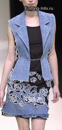 originales diseños con jeans