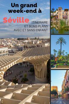 Séville, la belle andalouse est une destination douce et dépaysante qu'on aime particulièrement. Nous vous livrons nos itinéraires insolites et bons plans pour un grand week-end à Séville