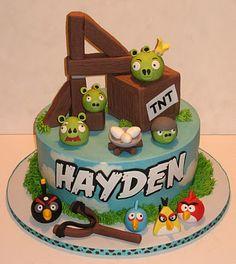 angry birds cake - idea for B's 4th birthday
