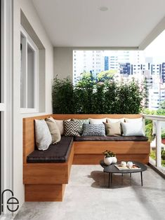 Stairs: Ideas, Photos, Decorating and Interior Design – … - All About Balcony Terrace Decor, Small Balcony Decor, Balcony Design, Ideas Terraza, Apartment Balcony Garden, Balcony Furniture, Living Room Trends, Porch Decorating, Room Decor