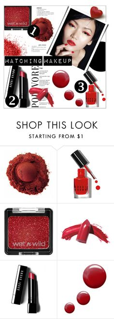 """""""Matching Makeup for Valentine's Day"""" by deeyanago ❤ liked on Polyvore featuring beauty, Bobbi Brown Cosmetics, Elizabeth Arden, Topshop, valentinesday and matchingmakeup"""
