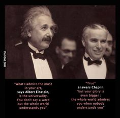 When Charlie Chaplin met Albert Einstein