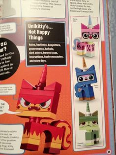 More Uni-Kitties Revealed in Future The LEGO Movie Sets