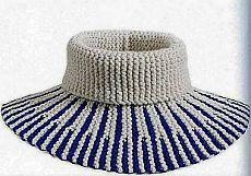 Манишка спицами   Рукоделие и вязание