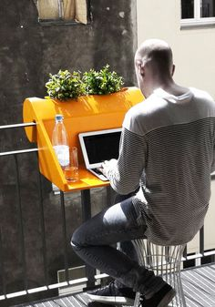 Many people pass their holidays at home. Also their work can be more and more done at home nowadays. With BalKonzeptbyRephormyou can combine living, holidays, work and fresh air. Perfect in small balconies, it can...