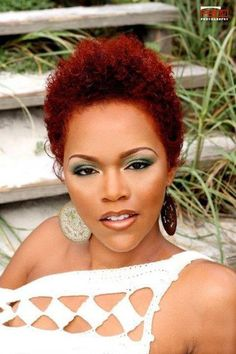 natural black hairstyles 2013 | Red Hair | Black Women Natural Hairstyles