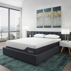 Classic Brands Cool Gel Ultimate Gel Memory Foam Mattress with BONUS 2 Pillows, King Check out this great product. (This is an affiliate link) Cool Gel Mattress, Full Mattress, Best Mattress, Cheap Mattress, Comfort Mattress, Traditional Bed Frames, Box Bed, Bed Reviews, Adjustable Beds