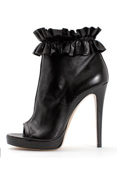 Victor & Rolph leather trim booties. This is a bad boot