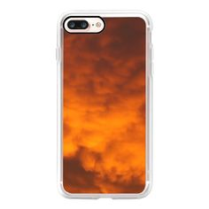 Sky on fire - iPhone 7 Case, iPhone 7 Plus Case, iPhone 7 Cover,... ($35) ❤ liked on Polyvore featuring accessories, tech accessories, iphone case, slim iphone case, iphone cases, iphone cover case and apple iphone case