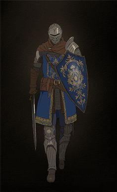 "owloftherearburghs: ""hiromatsu: "" Elite knight from Dark souls 1 "" @astoran-exemplar """