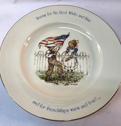 A personal favorite from my Etsy shop https://www.etsy.com/listing/469792660/1976-porcelain-holly-hobbie-freedom