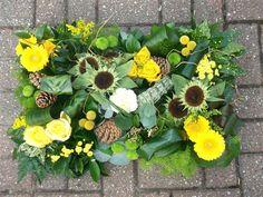 funeral flowers - Textured Pillow