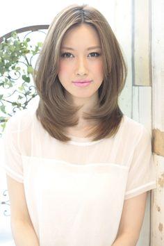 Haircuts For Medium Hair, Medium Layered Haircuts, Medium Long Hair, Long Layered Hair, Long Hair Cuts, Short Bob Hairstyles, Medium Hair Styles, Short Hair Styles, Asian Hair