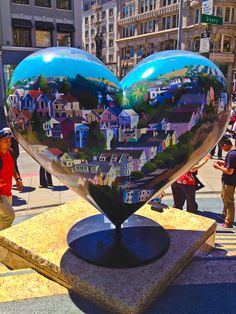 heart scavenger hunt to locate 126 of the hidden heart art around san fran
