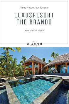 Luxusresort The Brando: Neue Erkundungen - The Chill Report Flora Und Fauna, French Polynesia, Hotel Reviews, Wonderful Places, Chill, Luxury, Outdoor Decor, Home, The Pacific