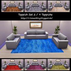 19 Sims 4 Blog: Carpet set 2 • Sims 4 Downloads Check more at http://sims4downloads.net/19-sims-4-blog-carpet-set-2/