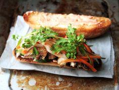 Grilled Chicken Banh-mi