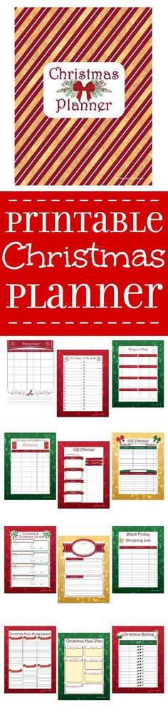 Organize your entire Christmas and holiday season with this Free Printable Christmas Planner. 8 sections, including schedule, gift planning, Christmas menu planning, & baking. This is amazing! I LOVE mine! Christmas Deco, All Things Christmas, Winter Christmas, Christmas Holidays, Merry Christmas, Christmas Favors, Xmas, Christmas Signs, Christmas Recipes