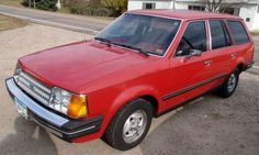 1984 Ford Ford Escort Wagon GL ours was silver