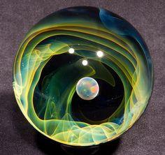 Opal Void Borosilicate Marble 2.25  1118.1 by BlueGooseStudios, $150.00
