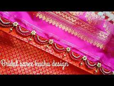Saree Kuchu New Designs, Saree Tassels Designs, Design Youtube, Stone Work, Chrochet, Indian Fashion, Free Crochet, Crochet Patterns, Make It Yourself