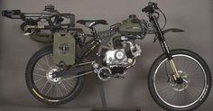 Survival Bike : la moto indispensable pour survivre à une invasion de zombies