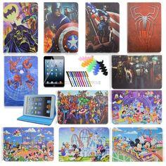 for ipad Air 2 Air ipad 2 3 4 ipad mini PU leather case TPU cartoon smart covers Leather Case, Pu Leather, Ipad Air 2 Cases, Ipod Touch, Ipad Mini, Cartoon, Cover, Accessories, Leather Pencil Case