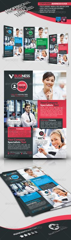 Corporate Business Flyer — Photoshop PSD #a4 flyer #spa • Available here → https://graphicriver.net/item/corporate-business-flyer/3729986?ref=pxcr