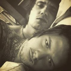 Denis Stoff and Ben Bruce- Asking Alexandria