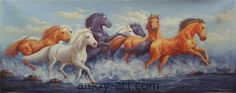 AA04HS001 (13)-Horse-China Oil Painting Wholesale   Portrait Oil Painting  Museum Quality Oil Painting Reproductions