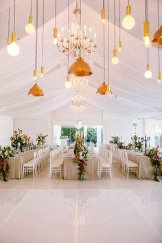 wedding Modern Elegant Wedding at the Lourensford Wine Estate – Wedding Eclectic Wedding, Elegant Wedding, Fall Wedding, Wedding Reception, Wedding Stage, Dream Wedding, Simple Wedding Centerpieces, Wedding Decorations, Table Garland