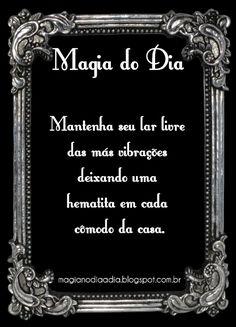 magia no dia a dia hematita