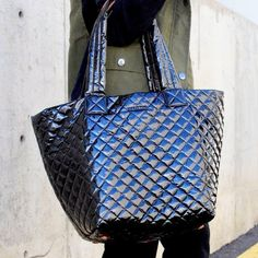Fancy - Metro Quilted Oxford Tote by MZ Wallace