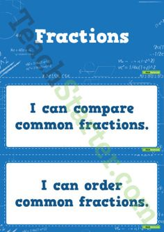 'I Can' Statements - Numeracy (Upper)
