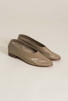 Leather Glove Flats, Coco
