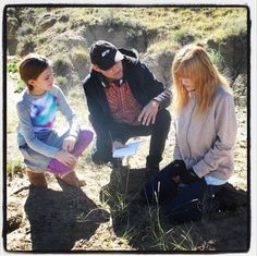 """Another Behind The Scenes Photo Of Bella Thorne Filming """"Big Sky"""" November 7, 2013"""