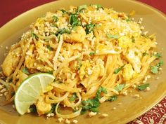 Dr dukan chicken pad thai. Really need to get some Shirataki Noodles!
