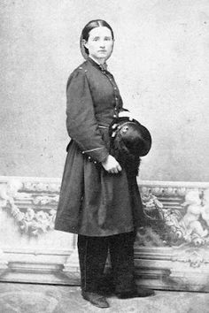 Dr. Mary Walker, Union army doctor. Medal Of Honor Recipient